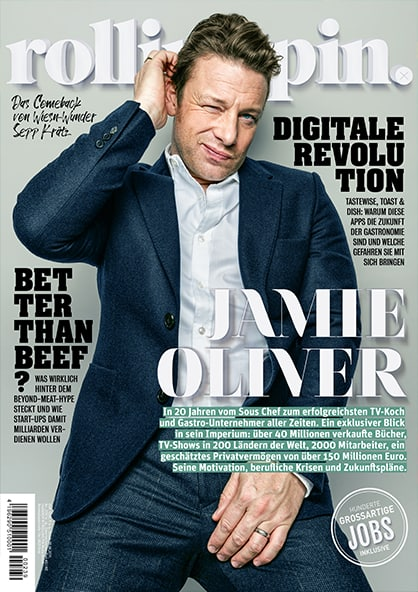 Rolling Pin Cover 239 Jamie Oliver nachdenklich