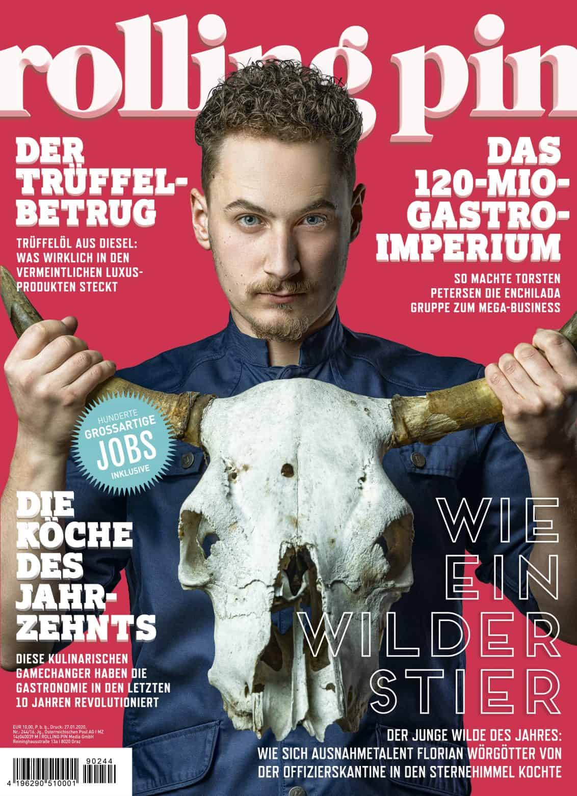 Cover Rolling Pin Magazin Ausgabe 244
