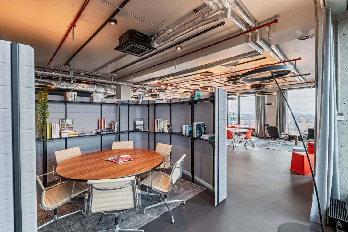 Die Flächen der Design Offices.